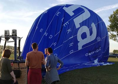 Huur deze luchtballon voor een Privé ballonvaart