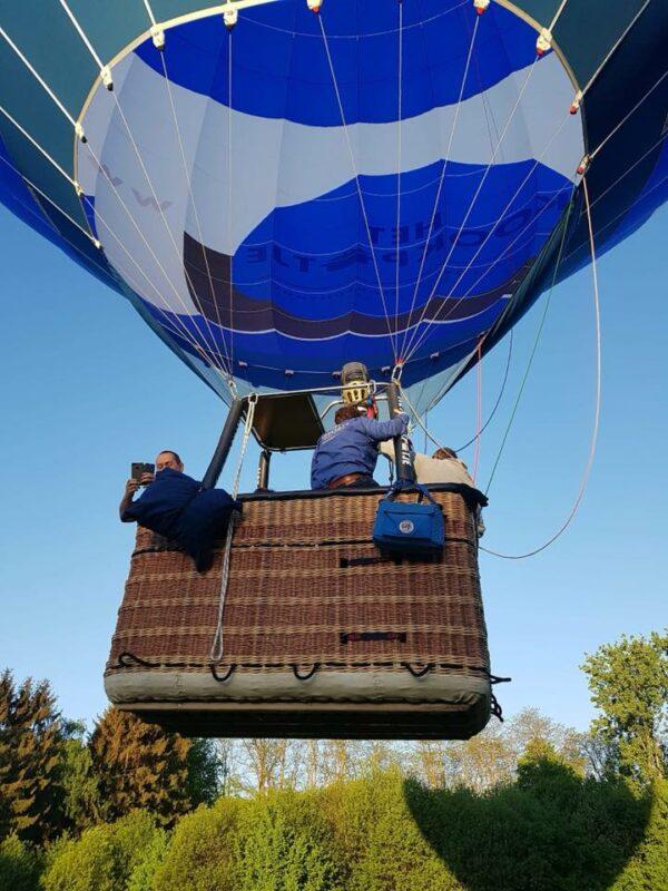 Ballonvaart Zonnebeke