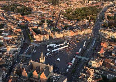 Ballonvaart over het natourcriterium Sint-Niklaas