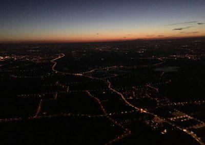 Ballonvaart nacht Up ballooning